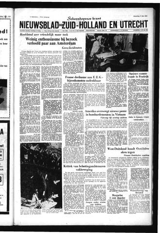 Schoonhovensche Courant 1965-07-05