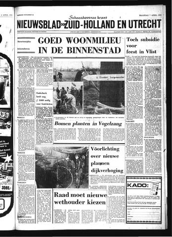 Schoonhovensche Courant 1975-04-07