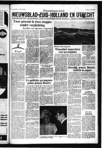 Schoonhovensche Courant 1965-06-25
