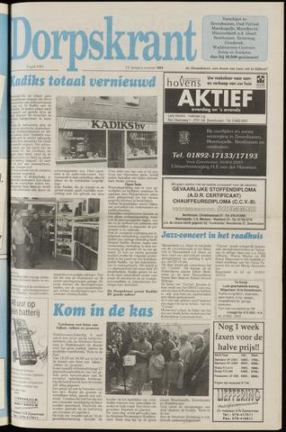 Dorpskrant 1991-04-03