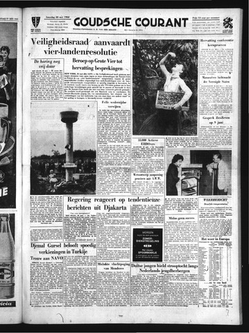 Goudsche Courant 1960-05-28