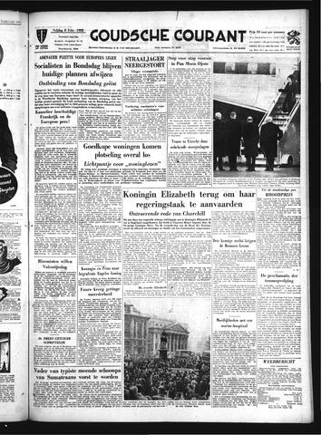Goudsche Courant 1952-02-08