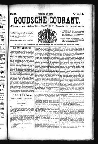 Goudsche Courant 1892-04-20