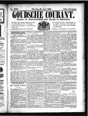 Goudsche Courant 1895-04-22