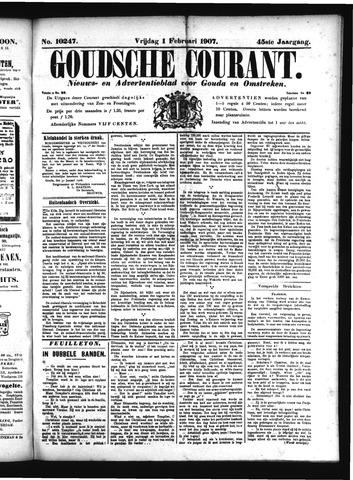 Goudsche Courant 1907-02-01