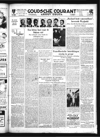 Goudsche Courant 1950-02-03