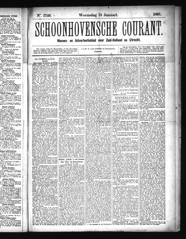 Schoonhovensche Courant 1897-01-13