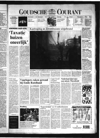 Goudsche Courant 2001-08-18