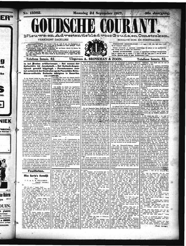Goudsche Courant 1917-09-24