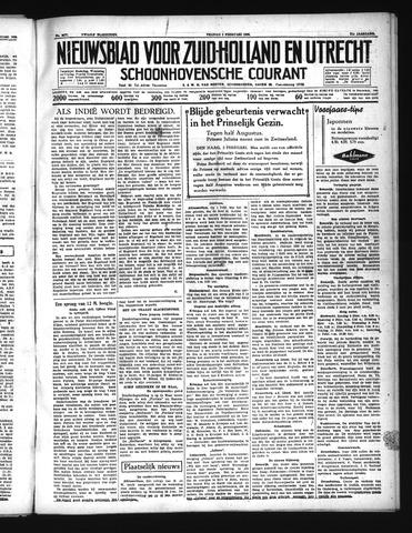Schoonhovensche Courant 1939-02-03