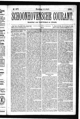 Schoonhovensche Courant 1880-07-04