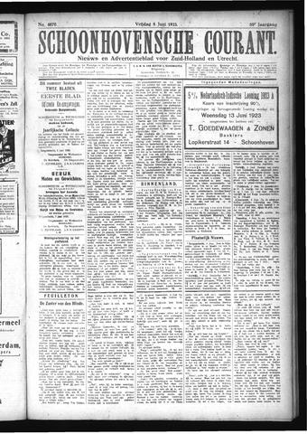 Schoonhovensche Courant 1923-06-08