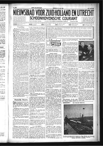 Schoonhovensche Courant 1933-07-12