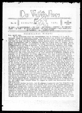 De Vrije Pers 1944-12-18