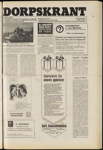 Dorpskrant 1981-11-27