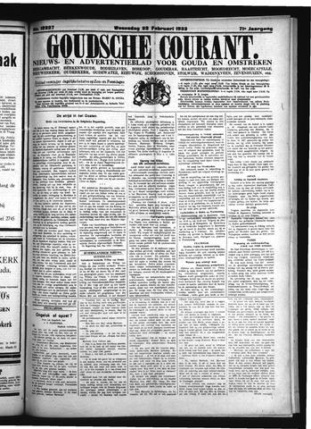 Goudsche Courant 1933-02-22