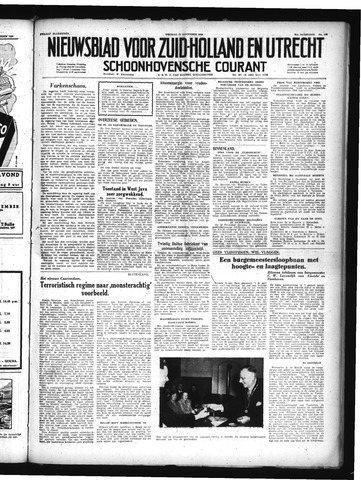 Schoonhovensche Courant 1949-11-25