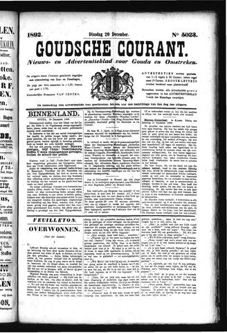 Goudsche Courant 1892-12-20
