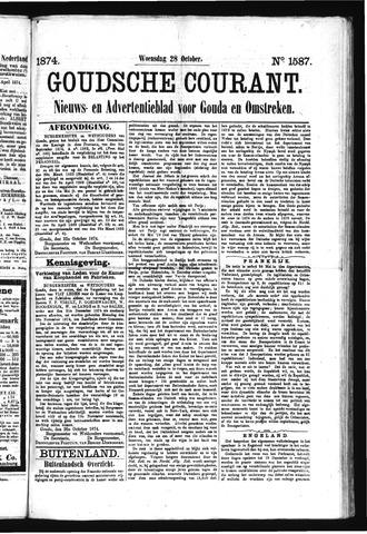Goudsche Courant 1874-10-28