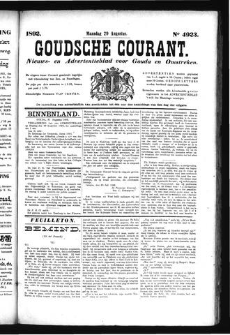 Goudsche Courant 1892-08-29