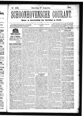 Schoonhovensche Courant 1901-08-17