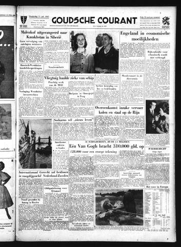 Goudsche Courant 1957-07-11