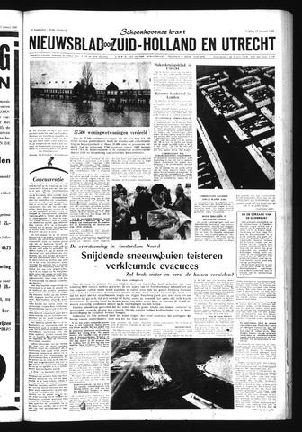 Schoonhovensche Courant 1960-01-15