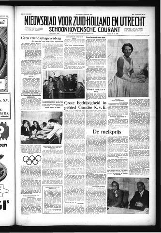 Schoonhovensche Courant 1956-01-30