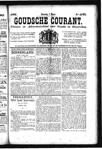 Goudsche Courant 1892-03-07