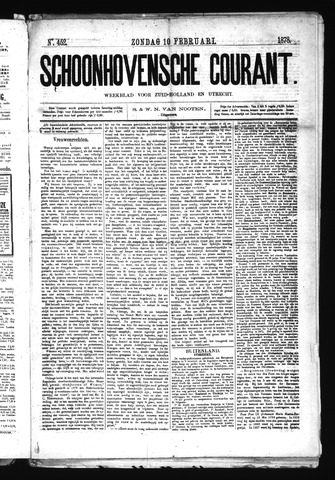 Schoonhovensche Courant 1878-02-10
