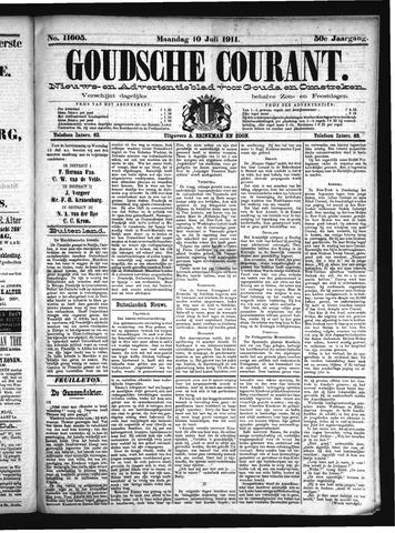 Goudsche Courant 1911-07-10