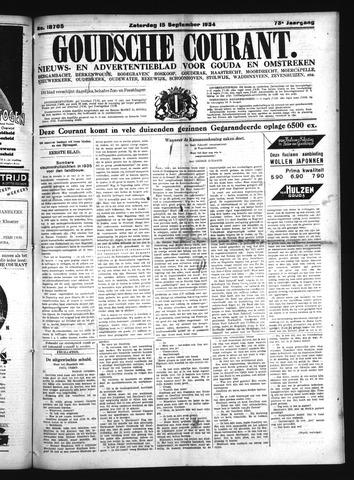 Goudsche Courant 1934-09-15