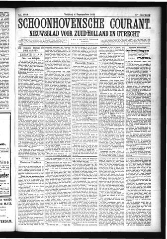 Schoonhovensche Courant 1925-09-04