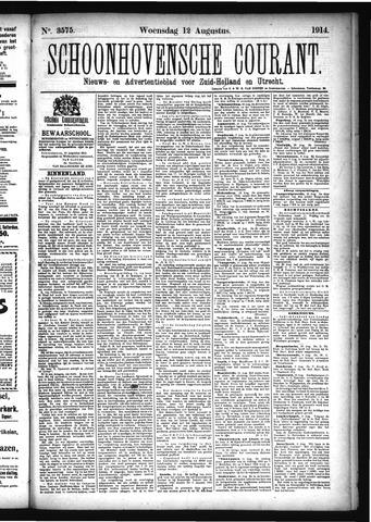 Schoonhovensche Courant 1914-08-12