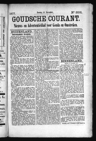 Goudsche Courant 1877-11-11
