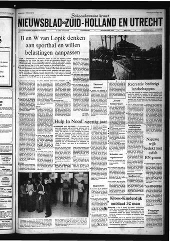 Schoonhovensche Courant 1972-11-29