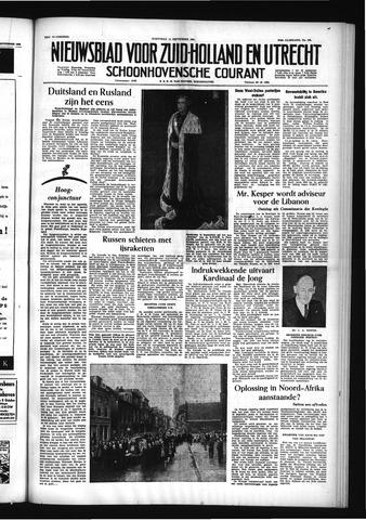 Schoonhovensche Courant 1955-09-14