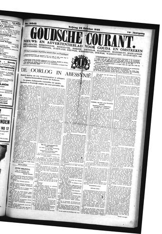 Goudsche Courant 1935-10-25