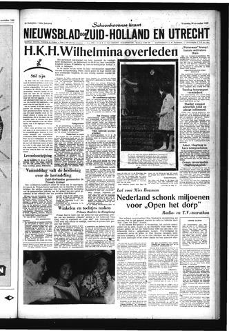 Schoonhovensche Courant 1962-11-28