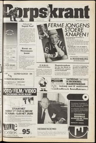 Dorpskrant 1987-12-09
