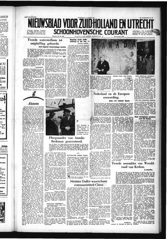 Schoonhovensche Courant 1954-03-31