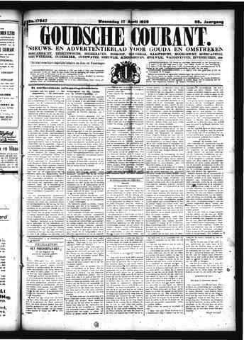 Goudsche Courant 1929-04-17