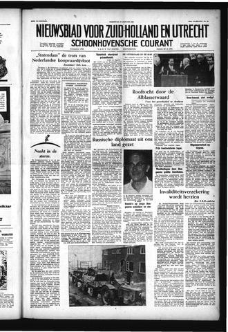 Schoonhovensche Courant 1957-01-23