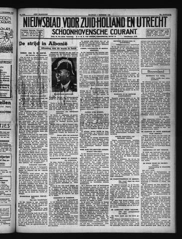 Schoonhovensche Courant 1940-12-09