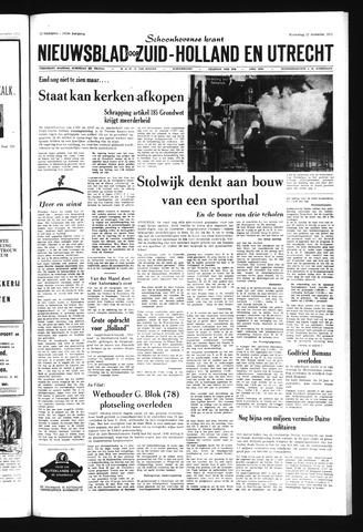 Schoonhovensche Courant 1971-12-22