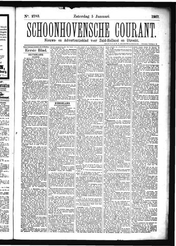 Schoonhovensche Courant 1907-01-05