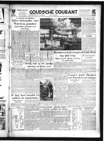 Goudsche Courant 1957-10-02