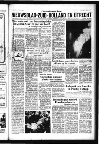 Schoonhovensche Courant 1965-08-11