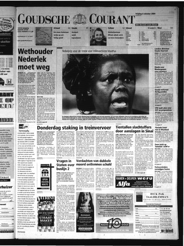 Goudsche Courant 2004-10-08