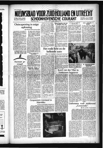 Schoonhovensche Courant 1954-08-06